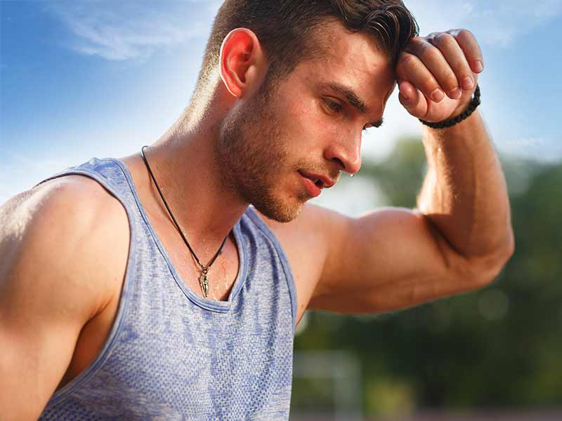 Sweat won't rid your body of toxins, but it can help diagnose and monitor diseases
